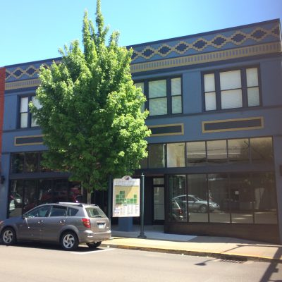 Historic Anderson Building in Forest Grove nears completion.