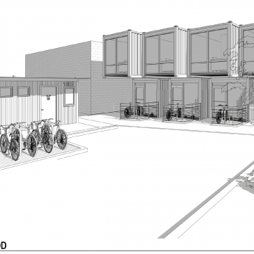 Shipping Container Office Concept