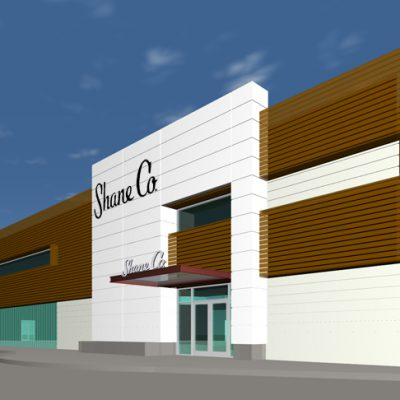 Final Concept design for Shane Co. Tigard - Exterior Remodel